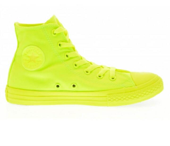 converse giallo fluo